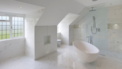 A showerlay 360 bathroom